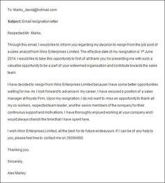 formal resignation letter https3sixtycyclingstudiocomresignation letter no