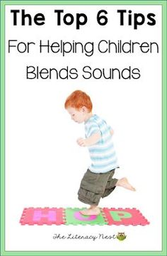 The Top 6 Tips For Helping Children Blend Sounds- If your student has a hard time blending sounds of letters into words to read, then this post is for you! #ortongillingham #ortongillinghamlessonplan #readingintervention