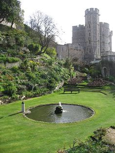 Windsor Castle, England- I've never seen this viewpoint before.