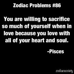 Its not really a sacrifice if you get love in return