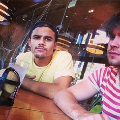 Jacob Artist and Chord Overstreet.