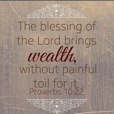Proverbs 10:22