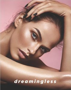 Back cover using Lily Lolo Mineral Cosmetics. Make-up: Jane Bradley @JaneBMakeUp