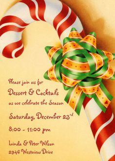 Christmas Party Invitation Ideas!!!