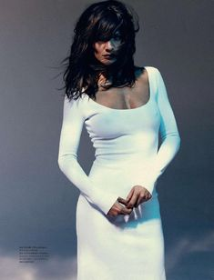 Helena Christensen for Harper's Bazaar Russia May 2011