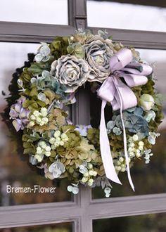 リース|プリザーブド 贈呈花|ブレーメンウェディング