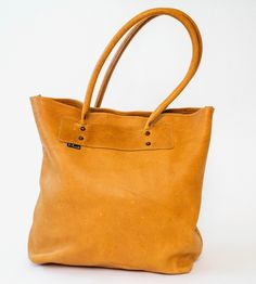 Everyday Leather Tote Bag by Marked on Scoutmob