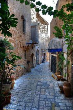 Jaffa Alleyway, Israel by Joao.Almeida.d.Eca