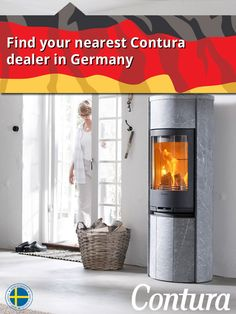 "Find your nearest Contura stove dealer in Germany. Click on the ""website"" button above to reach the map."
