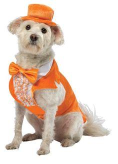 Rasta Imposta Dumb and Dumber Lloyd Orange Tuxedo Dog Costume, Medium - http://www.thepuppy.org/rasta-imposta-dumb-and-dumber-lloyd-orange-tuxedo-dog-costume-medium/