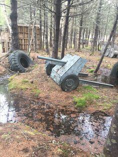 Airsoft Field, Paintball Field, Paintball Guns, Shooting Range, Outdoor Playground, Cannon, Nerf, Monster Trucks, Halloween