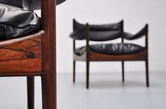 Kristian Vedel modus chairs pair 1963 | Mass Modern Design