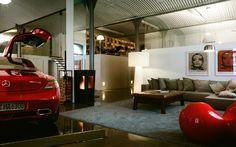 NY-LOFT sentiment à Vienne par les architectes Loebell, par l'intermédiaire Behance