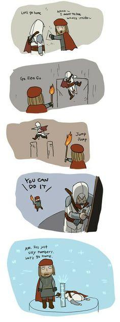The end of the Da Vinci disappearance Ezio and Leonardo by Doubleleaf