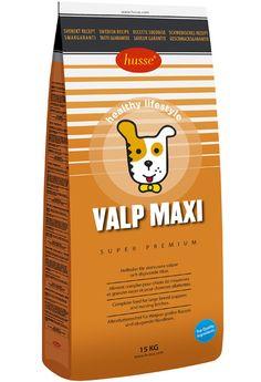 VALP MAXI  Pienso completo para perros en crecimiento o madres lactantes de tamaño grande o gigante.  Pienso completo super premium que cubre las necesidades extras de nutrición, minerales y vitaminas en los cachorros de tamaño grande o gigante en crecimiento y perras embarazadas o lactantes. El tamaño de la croqueta esta especialmente desarrollado para las mandíbulas en los perros de tamaño grande o gigante. Contiene glucosamina y condroitina que el perfecto desarrollo de las…