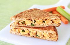 Low-Calorie Grilled Cheese Recipes: Buffalo Chicken, Bacon Supreme
