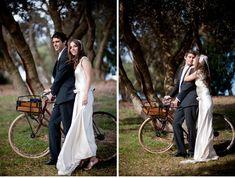 Marissa   Adrian's Vintage Australian Wedding on http://ruffledblog.com