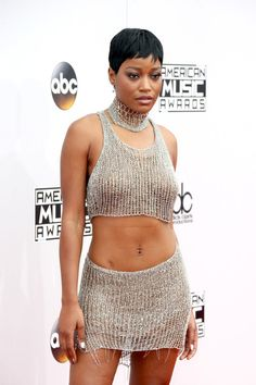 Actress Keke Palmer attends the 2016 American Music Awards at Microsoft Theater on November 20, 2016 in Los Angeles, California.