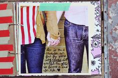 Love the idea of a binder and writing on the photos- a journal doesn't have to be a journal :)