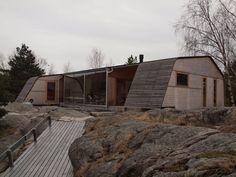 Summer house Grøgaard and Slaattelid / Knut Hjeltnes Architects: Knut Hjeltnes Location: Kragero, Norway Year: 2011 Photographs: Courtesy of Knut Hjeltnes