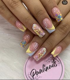 Manicure And Pedicure, Gel Nails, Acrylic Nails, Semi Permanente, Glamour Nails, Creative Nail Designs, Chic Nails, Luxury Nails, Fire Nails