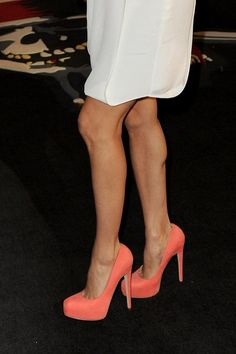 Brian Atwood coral pumps .
