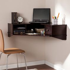 You'll love the Cantillo Floating Desk at Wayfair - Great Deals on all Office products with Free Shipping on most stuff, even the big stuff.
