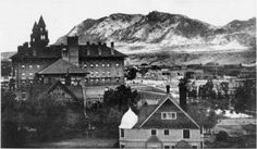 Cheyenne Mt ~ From Antlers Hotel ~ Colorado Springs Colo ~ 1901