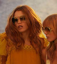 c1a12541371b Chloé Eyewear · Look into the light –  chloeGIRLS Luna Bijl and Ulrikke  Hoyer wearing Nola sunglasses in