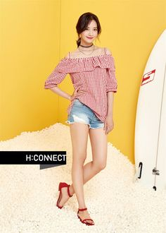 More of SNSD YoonA's pretty pictures from 'H:Connect' Girls Generation, Snsd Fashion, Korean Fashion, Yoona Snsd, Idole, Korean Actresses, Korean Actors, Girl Poses, Mannequin