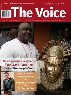 The Voice magazine May 2018 edition