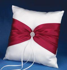 Christmas Wedding Ring Bearer's Pillow