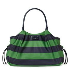 Yay I'm getting my kate spade diaper bag for my bday!!!!! Except mine will be black and white striped :)