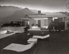 Richard Neutra Kauffman House, Palm Springs, CA.