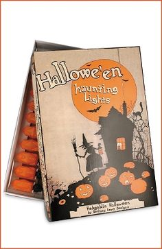 Bethany Lowe Designs Halloween 2011, Vintage Halloween Lights