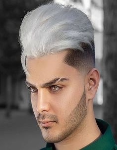 Amazing Hair Cut And Hair Color For men