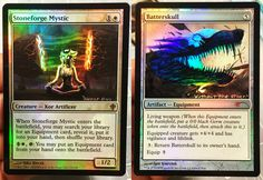 Stoneforge Mystic and Batterskull as Lamb and Wolf (Kindred from League of Legends) | Scourge Alters   Beautiful! Beautiful!!@maven-of-the-moon