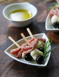 July 4th Antipasto Skewers