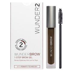 Wunder2 Wunderbrow Eyebrow Gel Perfect Eyebrows in 2 Mins - Black/Brown #Wunder2