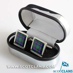 Clan Young Tartan Cufflinks