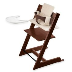Stokke® Tripp Trapp® High Chair Complete Bundle in Walnut - buybuyBaby.com