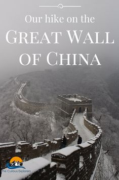 One of the 'new seven wonders of the world' is located ninety minutes away (on a clear road) from the Chinese capital Beijing, known as the Great Wall of China. Now as everyone knows it is impossible to walk the whole length of the wall in one day as it spans over 8,000km (and some of it is in need of major repair or has fallen apart) but a lot of visitors in this area will head to Mutianyu and this is where we headed to.