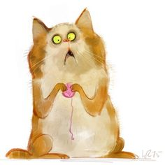 Illustrations of cats and kitties | Board