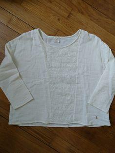 Blouse tee shirt DES PETITS HAUTS Taille 2 Coton et dentelle    Vêtements, accessoires, Femmes: vêtements, Hauts, chemises   eBay!