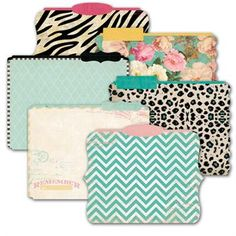 Heidi Swapp Memory File - thought they were just folders, but they are like mini albums.