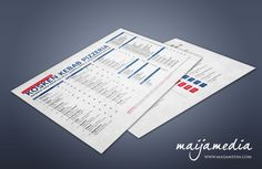 Simple and stylish restaurant menu #restaurant #pizzeria #menu by #Maijamedia Oy