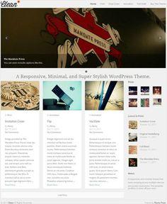 Clean WordPress Theme - Theme Trust