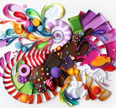 Yulia Brodskaya : Candy Crush