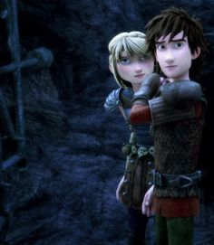 Astrid's face! She's like: You ruined my Hiccstrid moment; Prepare to die.
