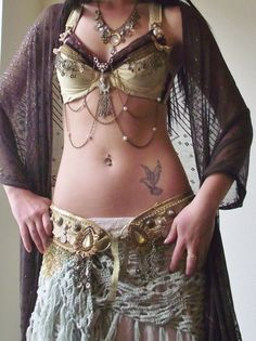 Tribal Fusion Bellydance Belt